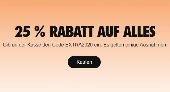 Bild zu NIKE: 25% Extra Rabatt auf fast Alles dank Gutschein
