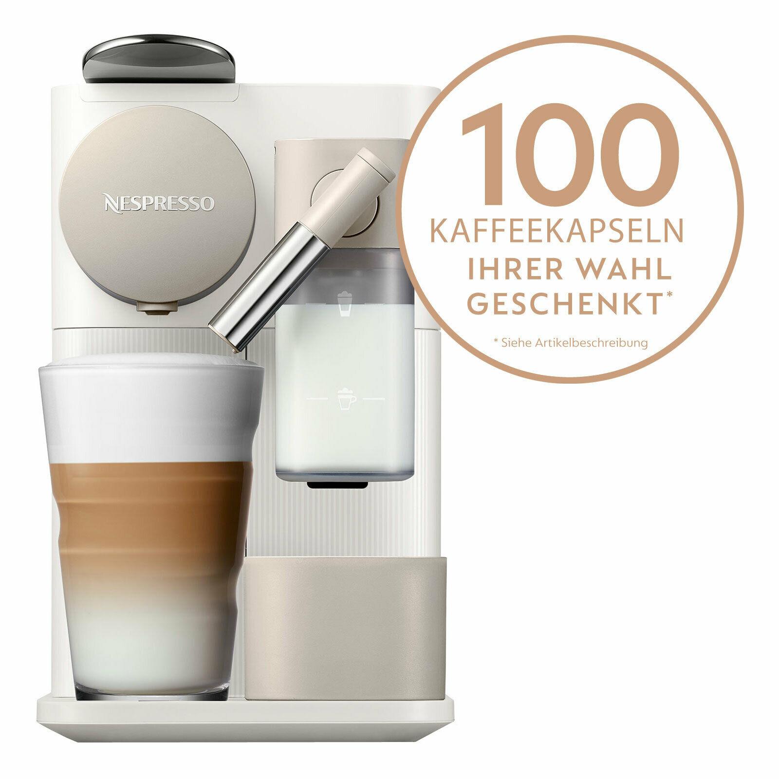 Bild zu DeLonghi EN 500.W Lattissima One Nespressoautomat für 119,90€ (Vergleich: 169,90€)