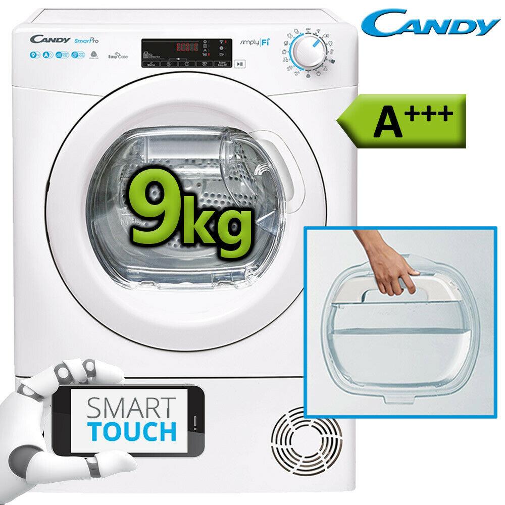 Bild zu 9 kg Wärmepumpentrockner Candy CSO H9A3TE-S für 349,99€ (Vergleich: 469€)