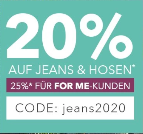 Bild zu Sheego: 20% Rabatt auf Jeans und Hosen