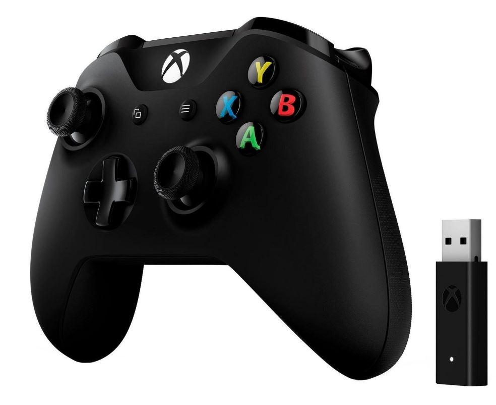 Bild zu Microsoft Xbox One Wireless Controller + Wireless Adapter für Windows für 39,90€ (VG: 51,90€)