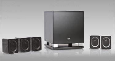 Bild zu ELAC CINEMA 30 schwarz 5.1 Heimkino-System für 1002,99€ (VG: 1498€)