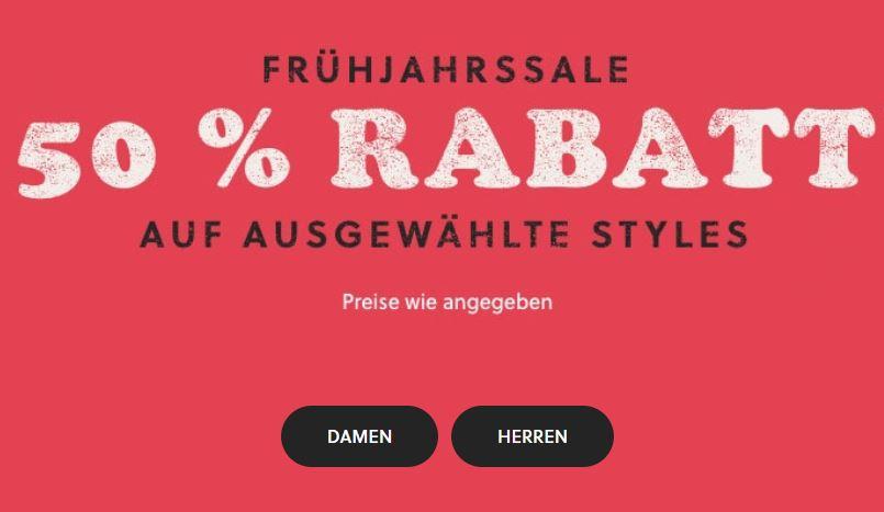 Bild zu FOSSIL: Frühjahrssale mit 50% Rabatt auf ausgwählte Styles + nun 15% Extra-Rabatt