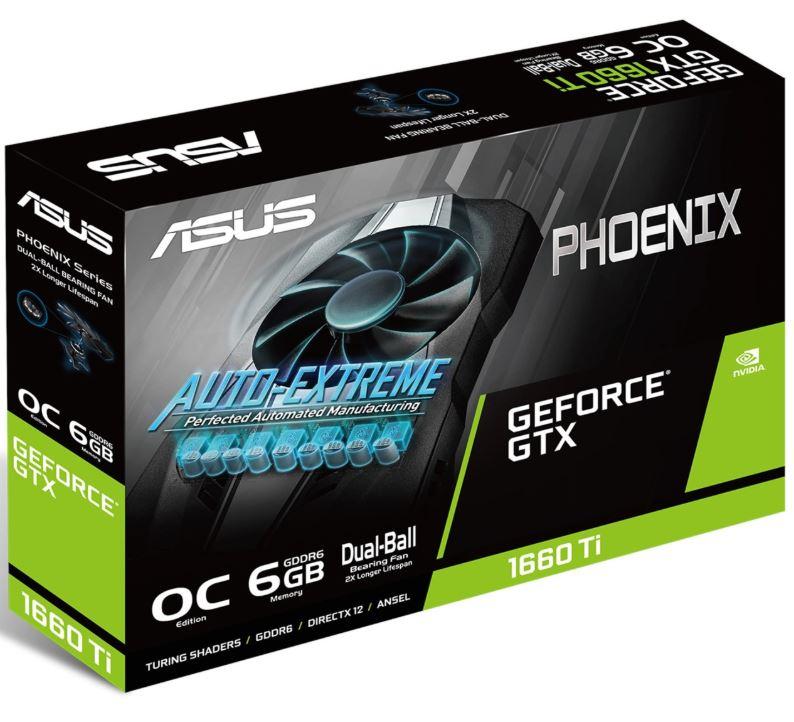 Bild zu ASUS GeForce GTX 1660 Ti Phoenix OC 6GB (90YV0CT0-M0NA00, Grafikkarte) für 249,99€ (VG: 301,14€)