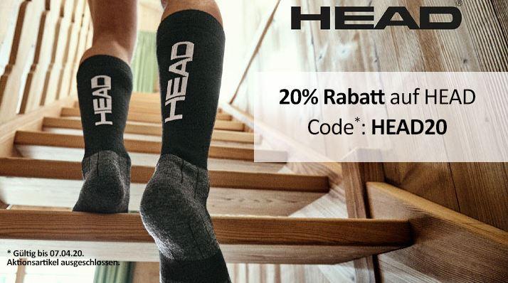 Bild zu MyBodyWear: 20% auf HEAD (Socken und Unterwäsche)