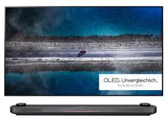Bild zu [nur bis 14 Uhr] LG SIGNATURE OLED65W9PLA OLED TV (Flat, 65 Zoll, 164 cm, UHD 4K, SMART TV, webOS 4.5 (AI ThinQ)) für 2.999€ (Vergleich: 4.799€)