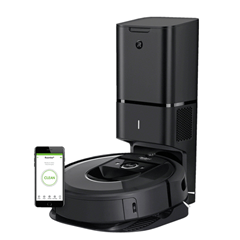 Bild zu iROBOT Roomba i7+ (i7558) Robotersauger mit Clean Base (75min. Laufzeit 1,5h Ladezeit) für 799,99€ (Vergleich: 899€)