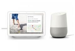 Bild zu Google Nest Hub + gratis Google Home für 129€ (Vergleich: 155,88€)
