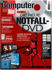 """Bild zu Jahresabo (26 Ausgaben) """"ComputerBild mit DVD"""" für 136,50€ + 140€ Amazon.de Gutschein als Prämie"""
