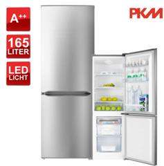 Bild zu PKM KGK178.4A++IX Kühl-Gefrierkombination (178 Liter, A++) für 209,90€
