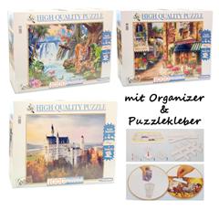 Bild zu Clementoni High Quality Collection Puzzle (4000 Teile, inkl. Puzzlekleber und Organizer) für je 24,95€ (Vergleich: 39,99€)