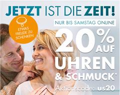 Bild zu Galeria.de: 20% Rabatt auf Uhren & Schmuck