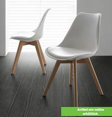 Bild zu 4 x STUHL in Weiß 'Judy' für 85,55€ (= 21,39€ pro Stuhl)