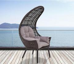 Bild zu Bessagi Garden Garten-Relaxsessel Timi mit Sitzkissen für 75€
