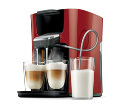 Bild zu PHILIPS Senseo Latte Duo HD7855/80 Kaffeepadmaschine für 129,99€ (Vergleich: 172,90€)