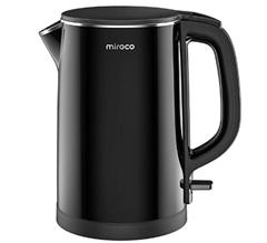 Bild zu Miroco elektrischer Wasserkocher aus Edelstahl 1,5L (2150W) für 30,99€