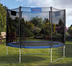 Bild zu 4 Uniq Gartentrampolin Ø244 cm (inkl. Sicherheitsnetz, belastbar bis 100kg) für 157,99€ (Vergleich: 269,99€)