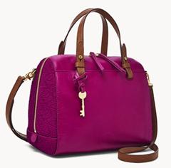 Bild zu Fossil Damen Tasche Rachel Satchel Pink für 59,50€ (Vergleich: 169€)