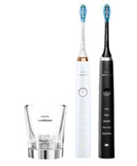 Bild zu PHILIPS HX9392/40 elektrische Zahnbürste (Schwarz, Weiß/Roségold) für 179€ (Vergleich: 209,99€)