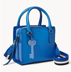 Bild zu Fossil Damen Tasche Hope blau für 59,50€ (Vergleich: 169€)