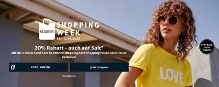 Bild zu s.Oliver: 20% Rabatt auf alles (ab 59€ MBW) – nur mit s.Oliver Card (kostenlos erstellbar)
