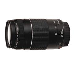 Bild zu [Top – bis 14.00 Uhr] CANON EF III 75 mm-300 mm f/4-5.6 EF (Objektiv für Canon EF-Mount) für 69€ (Vergleich: 151,89€)