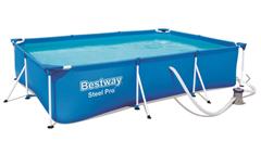 Bild zu Bestway Steel Pro Frame Pool Set ca. 300 x 201 x 66 cm für 104,94€