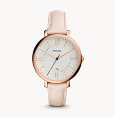 Bild zu Fossil Damen Uhr ES3988 Jacqueline rosé für 35,70€ (Vergleich: 86,99€)