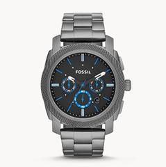 Bild zu Fossil Herren Uhr FS4931 Machine Edelstahl für 56,70€ (Vergleich: 142,76€)