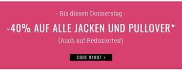 Bild zu Orsay: 40% Rabatt auf alle Jacken und Pullover + kostenlose Lieferung