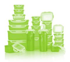 Bild zu Lock&Lock 24 Frischhaltedosen luft- und wasserdicht (stapelbar, 180ml-2,3l) ab 24,98€