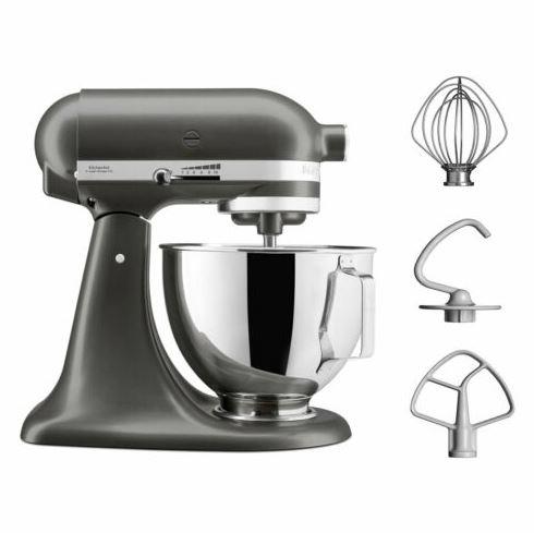 Bild zu KitchenAid (5KSM95PSESZ) Küchenmaschine 4,3L für 269,90€ (VG: 349€)