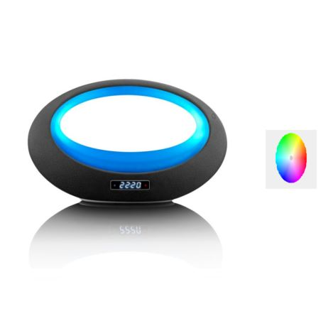 Bild zu Lenco BT-210 Light appgesteuerter Bluetooth Lautsprecher mit anpassparer LED-Beleuchtung für 39,99€ (VG: 79,99€)