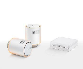 Bild zu Netatmo Smarte Heizkörperthermostate Starterpaket für 94,89€ (VG: 169,98€)