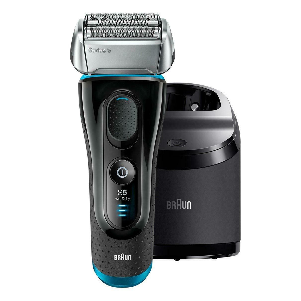 Bild zu Herren Elektrorasierer Braun Series 5 5190CC mit Reinigungsstation für 111€ (Vergleich: 129,95€)