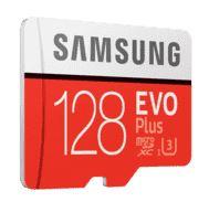 Bild zu SAMSUNG Evo Plus 128 GB Micro-SDXC Speicherkarte für 18€ (VG: 22,74€)
