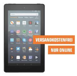 Bild zu AMAZON Fire 7 Tablet (16 GB, 1 GB RAM, 7 Zoll, Fire OS, Schwarz) für 39,90€ (VG: 44,98€)