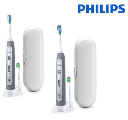 Bild zu 2 x die Philips Sonicare Flexcare Platinum für 155,90€ (VG: 238,88€)