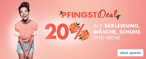Bild zu [nur noch heute] Galeria: 20% Rabatt auf Bekleidung, Schuhe und Wäsche + versandkostenfrei ab 20€