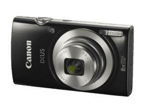 Bild zu CANON Ixus 185 Digitalkamera (20 Megapixel, 8x opt. Zoom, Schwarz) für 77€ (VG: 92,99€)