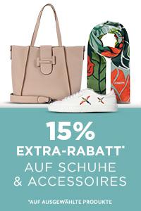 Bild zu [endet heute] Engelhorn: 15% Extra-Rabatt auf Schuhe und Accessoires