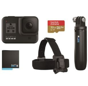 Bild zu GoPro Hero 8 Black Black Holiday Bundle für 339,90€ (VG: 379€)
