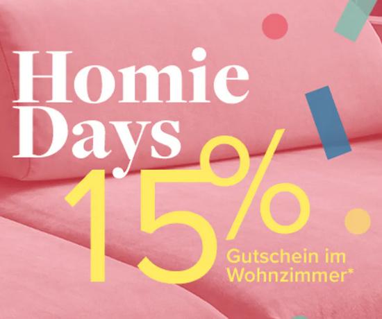 Bild zu Home24: 15% Rabatt auf Wohnzimmer Artikel