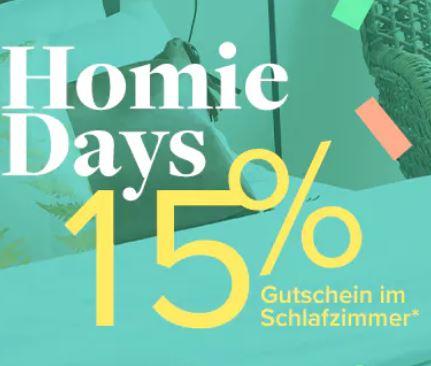 Bild zu Home24: 15% Rabatt auf Schlafzimmer Artikel