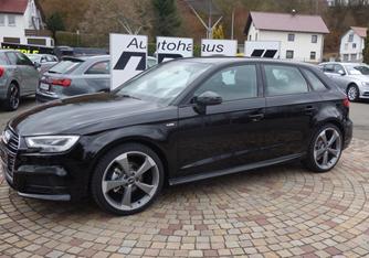 Bild zu Audi A3 Sportback 1.5 TFSI 6-Gang S-line für 219€/Monat – LF 0,54(Laufzeit 24 Monate / 10.000km pro Jahr)