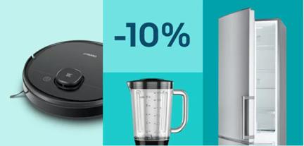 Bild zu [nur noch heute] eBay: 10% Rabatt auf ausgewählte Haushaltsgeräte