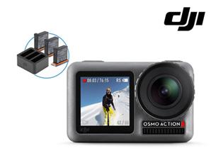 Bild zu [nur am Sonntag] DJI Osmo Action 4K Action-Kamera und Ladekit für 275,90€