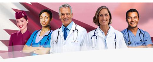 Bild zu Qatar Airways: 100.000 Tickets kostenlos für medizinisches Fachpersonal – nur Flughafensteuern müssen bezahlt werden