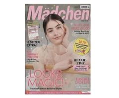 """Bild zu Jahresabo (12 Ausgaben) der Zeitschrift """"Mädchen"""" ab 32,05€ + bis zu 30€ Prämie"""
