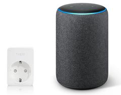 Bild zu AMAZON Echo Plus (2nd Gen.) sprachgesteuerter Lautsprecher inkl. smarte Steckdose Tapo P100 ab 100,94€ (Vergleich: 166,97€)